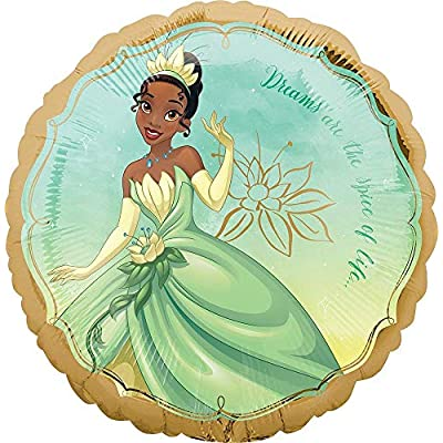 Princess Tiana Party Supplies 5th Birthday Balloon Bouquet Decorations: Toys & Games