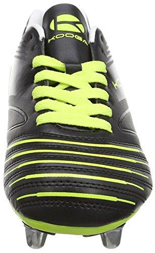Kooga Junior Advantage - Zapatillas de rugby de sintético para niño negro - negro (negro/Lime)