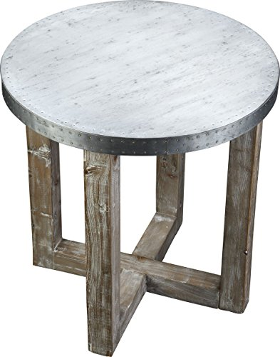 zinc top dining table - 9