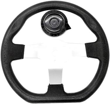 Toogoo 270mm Gelaendegaengiges Kart Lenkrad Fuer Elektrisches Go Kart Gelaendereiter Roller Karting Waage Auto Auto
