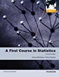 A First Course in Statistics, James T. McClave and Terry Sincich, 0321807278