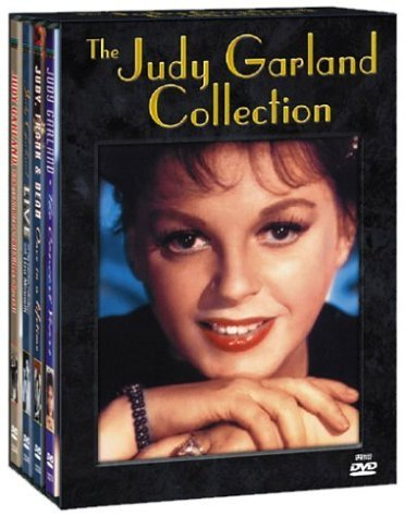 The Judy Garland Collection (The Judy Garland, Robert Goulet & Phil Silvers Special / Live at the London Palladium with Liza Minnelli / The Concert Years / Judy, Frank & Dean Once in a Lifetime)