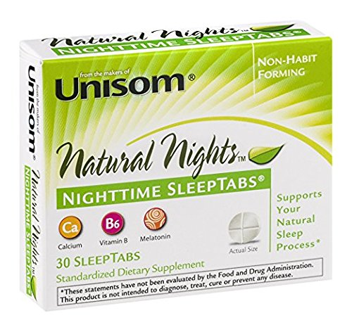 Unisom Unisom Natural Nights Sleeptabs - 30 Tablets (Pack of