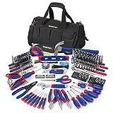 WORKPRO W009037A 322-Piece Tool Kit w/Carry Bag