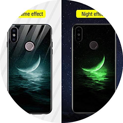 Glass Luminous Phone Case for Xiaomi Redmi Note 5 Silicone Case for Xiaomi Redmi 4X 5 Plus 6A Note 6 Pro Mi A1 A2 Lite,14,for Mi A2 Lite (Gta Iv Best Cheats)