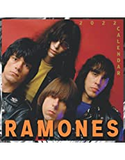 RAMONES Calendar 2022: 12 Months of Perfect Graphics For Ramones Fans 8.5x8.5 Glossy Finish