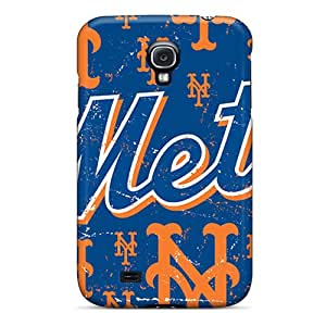 Excellent Cell-phone Hard Cover For Samsung Galaxy S4 (eyn12458exRp) Allow Personal Design High Resolution New York Mets Image