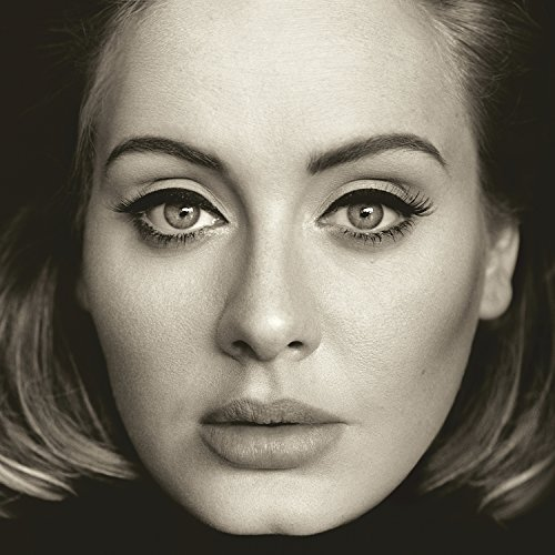 Original album cover of 25 by Adele