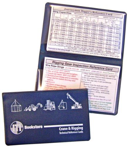 - Journeyman Rigger, Master Rigger, Rigging Inspection Reference Card Pack