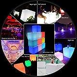 WONFAST LED Cube Table Light, Waterproof RGB