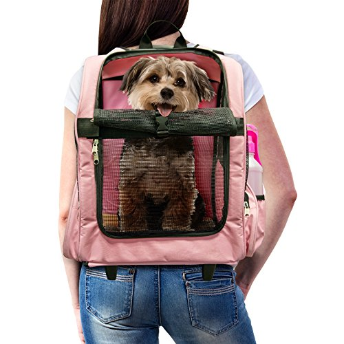 Furhaven Pet Backpack Roller Carrier Dogs product image