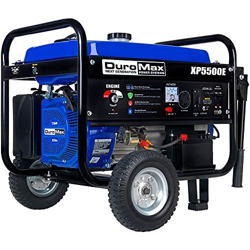 DuroMax XP5500E 5,500-Watt Gas Powered Portable Generator