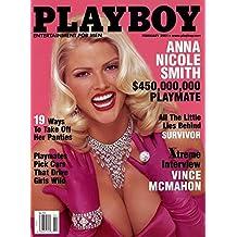 Playboy Magazine - February 2001 - Anna Nicole Smith