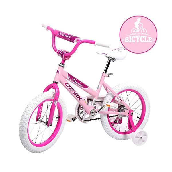 Ozark Violet BMX Girls Kids Bike Free Style Bicycle