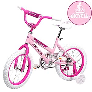 "Amazon.com : 16"" Steel Frame Children BMX Girls Kids Bike"