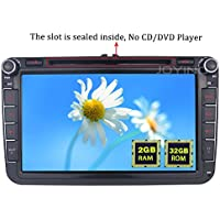 JOYING 8 inch plug and play Radio for VW Volkswagen Double din 2GB RAM Android 5.1- Android 6.0 Head Unit Car Audio Stereo -Jetta Golf Tiguan Amarok CC Passat Beetle Polo Sharan Eos