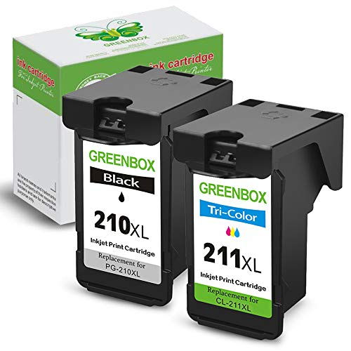 GREENBOX Re-Manufactured Ink Cartridge Replacement for Canon