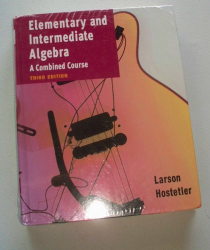 Elementary and Intermediate Algebra, Custom Publication