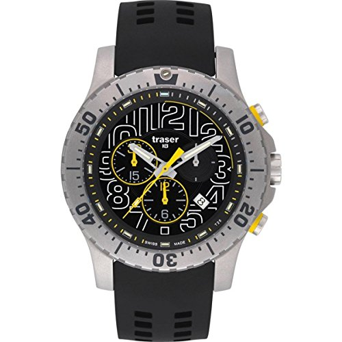 Traser H3 Mens Watch Sport Elite Chronograph 105858