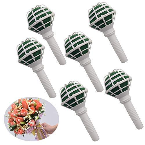 Arlai Box of 6, Bouquet Holders - Bridal Wedding Bouquet Holder Decoration]()