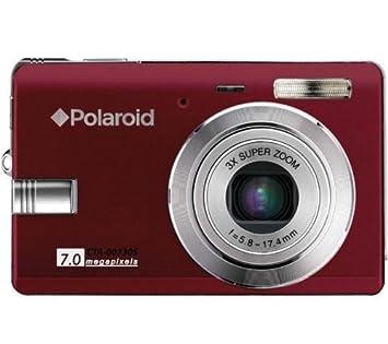 amazon com polaroid t730 7 0mp digital camera 2 5 tft lcd red rh amazon com