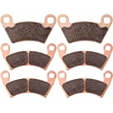 Sintered Brake Pads ECCPP Motorcycle Replacement Front and Rear Braking Pads Kits Set for 2011-2014 Polaris Ranger RZR XP 900, 2010-2013 Polaris Ranger RZR XP 800 EPS