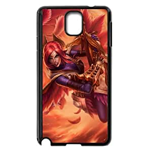 Samsung Galaxy Note 3 Cell Phone Case Black League of Legends Phoenix Quinn Uswd