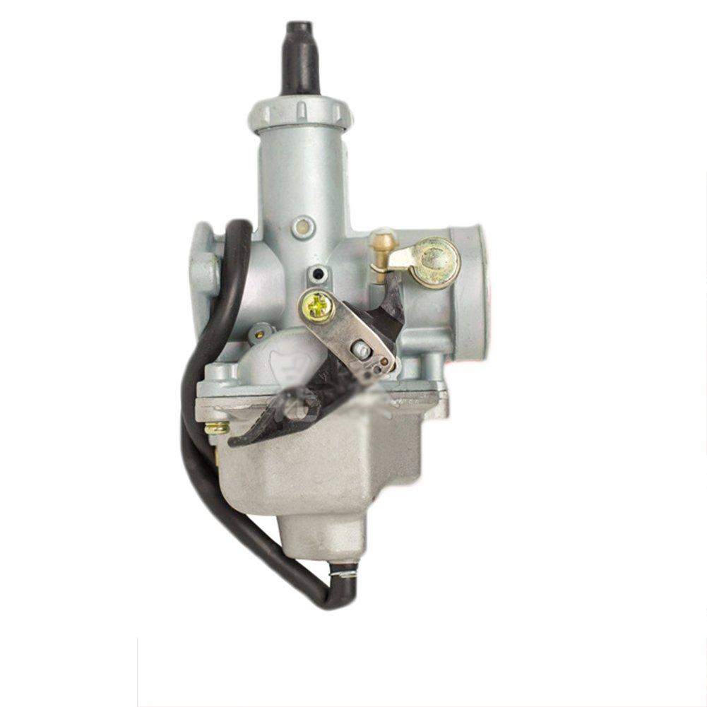 Qiyun Kit Moto Carburador PZ26/26/mm 120/ /125/cc 4/tiempos carburador para Honda CB125/CRF150/xl125s TRX250/TRX 250ex XR100/XR100R