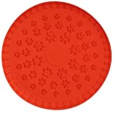 SchwabMarken 1, 3, 5 or 15 Soft Dog Frisbee Disc, 5 Unit, Color Orange, Diameter Approx. 9 inch in