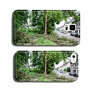 storm damage on the road cell phone cover case iPhone6 Plus