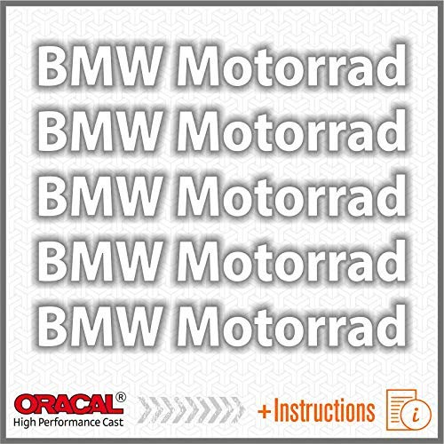 5pcs ADESIVI Motorrad F650GS F 650 GS F650 F700GS 700 F700 F800GS 800 F800 R1150GS R1150 1150 R1200GS R1200 1200 R1200R R1200 R S1000XR S 1000 XR S1000 R1200RT R1200 RT Bianco