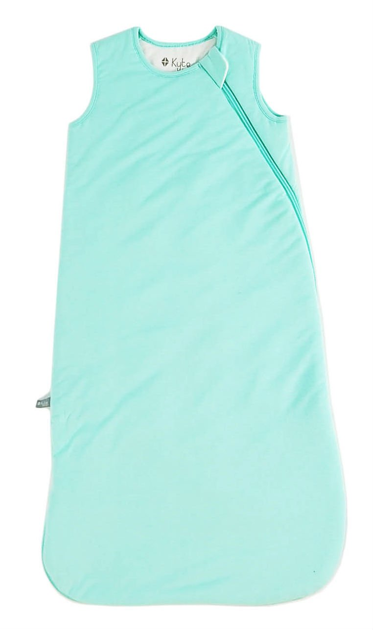 Kyte BABY Sleeping Bag for Toddlers 18-36 Months - Made of Soft Bamboo Material - 0.5 Tog - Aqua
