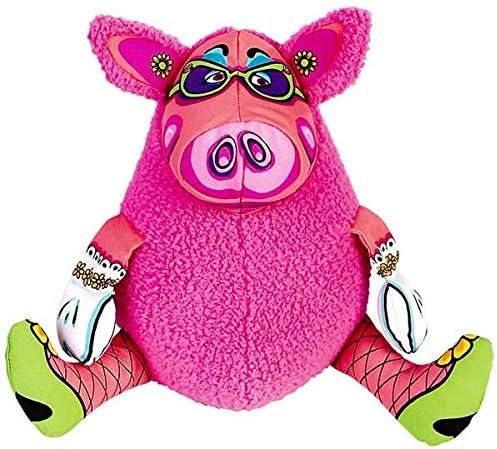 Brinquedo Fatcat Gruntleys Mini Rosa para Cães Fatcat para Cães, Rosa