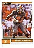 2017 Score #437 Derek Barnett Tennessee Volunteers Rookie Football Card Philadelphia Eagles 1st Round Pick #14
