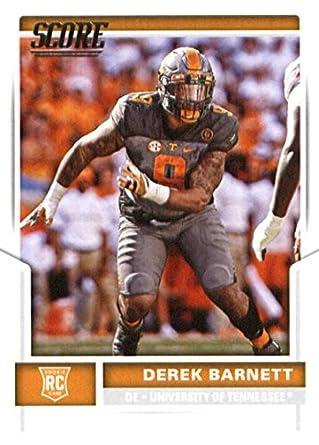 5bd4e1423e3 2017 Score #437 Derek Barnett Tennessee Volunteers Rookie Football Card  Philadelphia Eagles 1st Round Pick