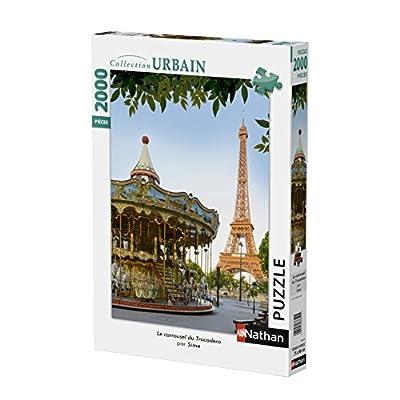 Nathan Puzzle Carosello Trocadero 2000 Pezzi 87881