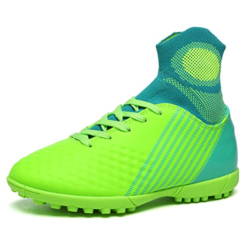 Xing Lin Chaussures De Football Aide Haute Chaussures De Football Fly Tube Bas Hommes Et Femmes Chaussures De Football Chaussures De Football Adultes Enfants 44, 39 Yards, Herbe Vert