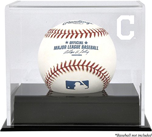 Baseball Cleveland Indians Display (Cleveland Indians Baseball Cube Logo Display Case)