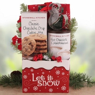 Cookies From Rudolph! Gourmet Holiday Gift Basket (Rudolph Cookie)