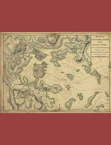 nal: 1775 British Map Showing Patriot Positions ()
