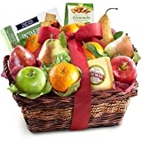 Classic Fresh Fruit Basket Gift with