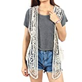 Pirate Curiosity Open Stitch Cardigan Boho Hippie Crochet Vest