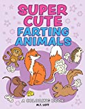 Super Cute Farting Animals Coloring Book