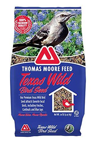 TMF Premium Texas Wild Bird Seed , 20 lb (Wild Animal Feed)