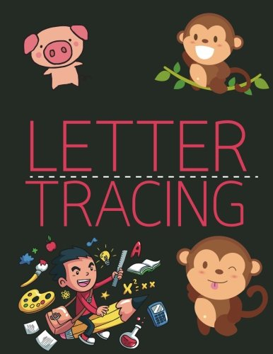 Letter Tracing: Lowercase & Uppercase(A-Z) - LARGE PRINT - Handwriting Practice Book For Kids Age 3-5 Year: Alphabet Writing Practice (Volume 1) (Tracing Lowercase Letters)