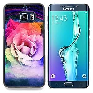 "Planetar ( Amor Rock Metal Rose de Halloween"" ) Samsung Galaxy S6 Edge Plus / S6 Edge+ G928 Fundas Cover Cubre Hard Case Cover"