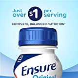 Ensure Original Nutrition Shake With 9g of Protein, Meal Replacement Shakes, Strawberry, 8 fl oz, 16 Count