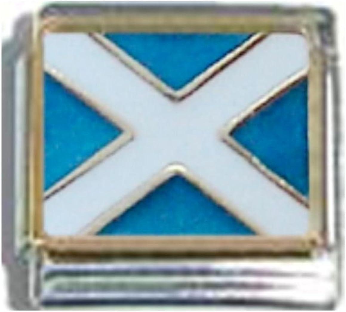 fits 9mm classic Italian charms Thistle Scotland Italian Charm