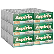 HealthA2Z Aspirin 81mg NSAID, Compare to Bayer Active Ingredient, 24 Packs of 36 Chewable Tablets(864 Tablets Total…