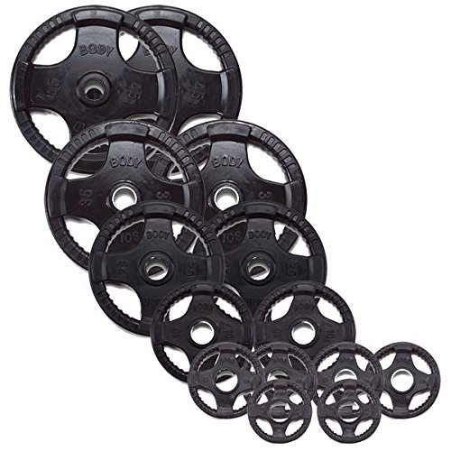 Body-Solid Rubber Grip Olympic Weight Plates  sc 1 st  Amazon.com & Weight Plate Sets: Amazon.com